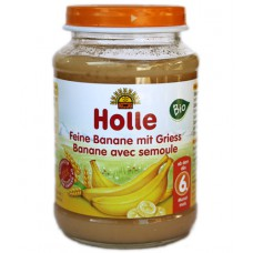 Petit pot à la banane avec semoule, Holle, 190g
