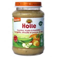 Petit pot à la courgette, citrouille et pomme de terre, Holle, 190g