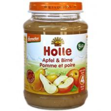 Petit pot pomme-poire sans gluten, Holle, 190g