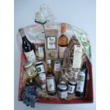 Carton cadeau produits bio du terroir / Geschenkkarton mit biologischen Produkte aus der Region