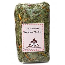 Tisane aux 7 herbes / 7-Kräuter-Tee, E. Grünenfelder, Vaulion, 50g