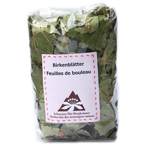 Tisane feuilles de bouleau birkenbl tter tee e gr nenfelder vaulion 30g - Feuille de bouleau photo ...