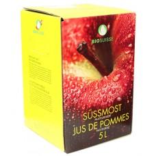 Jus de pomme naturel Bio Suisse / Süssmost  5 litres