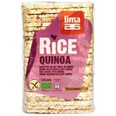 Galettes fines de riz complet au quinoa, Lima, 130g