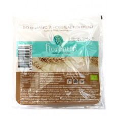 Pain pita complet / Bio organic wholemeal pita bread, Florentin, 280g