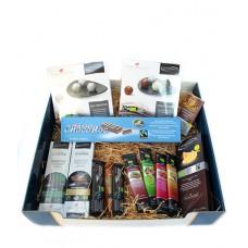 Carton cadeau assortiment chocolats Suisses bio (grand)