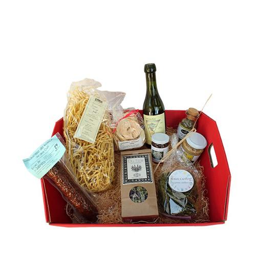 Paniers Cadeaux Suisse : Panier cadeau de produits du terroir bio