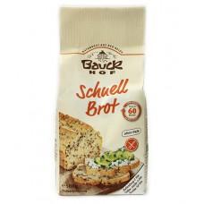Farine pour pain rapide sans gluten / Schnell Brot, Bauckhof, 500g