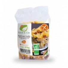 Muesli bio aux fruits sans gluten / Früchte-Müesli glutenfrei, 375 g