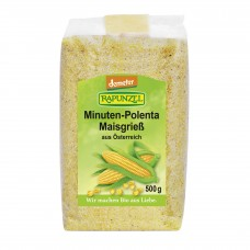 Polenta (semoule de maïs) / Maisgriess Minuten-Polenta, Rapunzel, 500g