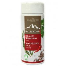 """Sel aux herbes """"Fort"""", Saline de Bex, 80g"""