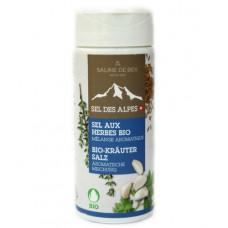 """Sel aux herbes """"Mélange aromatique"""" Saline de Bex, 80g"""