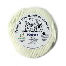"""Fromage frais au lait de brebis """"Nature"""", Le Sapalet,100g"""