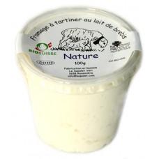 """Fromage à tartiner au lait frais de brebis """"Nature"""", Le Sapalet, 100g"""