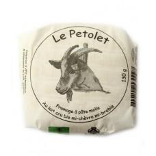 """Fromage affiné mi-chèvre mi-brebis """"Le Petolet"""", Le Sapalet, 130g"""