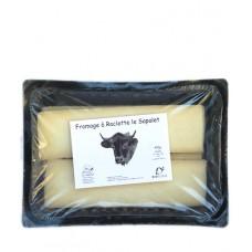 Fromage à raclette pré-tranché, Le Sapalet, 400g environ