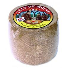 "Fromage ""Tête de Moine"" AOP, Fromage de Bellelay, meule de 800g environ"