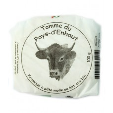 """Fromage """"Tomme du pays d'Enhaut"""", Le Sapalet, 100g"""