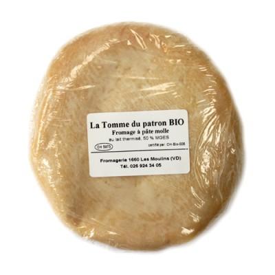 """Fromage """"La Tomme du patron"""", Les Moulins, 200g"""