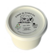Crème de brebis 35%, Le Sapalet, 15cl