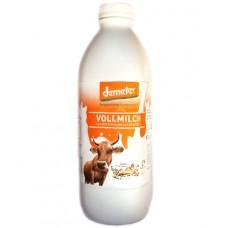 Lait entier non homogénéisé Demeter / Vollmilch, Biedermann, 1 litre