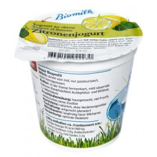Yogourt citron demeter, Biomilk, 150g