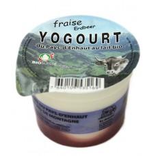 """Yogourt du Pays-d'Enhaut """"Fraise"""", Le Sapalet, 140g"""