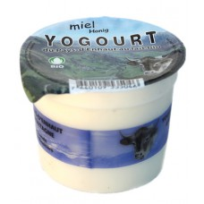 """Yogourt du Pays-d'Enhaut """"Miel"""", Le Sapalet, 140g"""