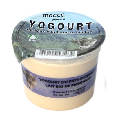 """Yogourt du Pays-d'Enhaut """"Mocca"""", Le Sapalet, 140g"""