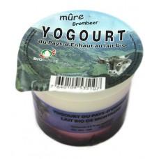 """Yogourt du Pays-d'Enhaut """"Mûre"""", Le Sapalet, 140g"""