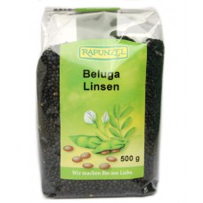 Lentilles noires Beluga / Beluga Linsen, Rapunzel, 500g