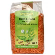 Lentilles rouges / Rote Linsen, Rapunzel, 500g