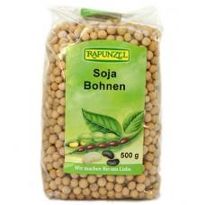 Fèves de soja jaune / Soja Bohnen, Rapunzel, 500g