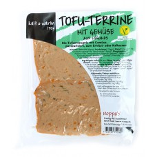Tofu terrine aux légumes / Tofu-Terrine mig Gemüse, Noppa's, 150g