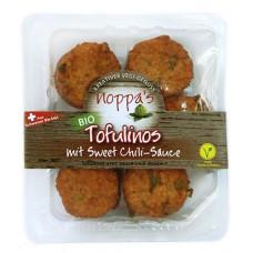 Tofulinos, boules à base de tofu, vegan, avec sauce chili douce, Noppa's, 135g