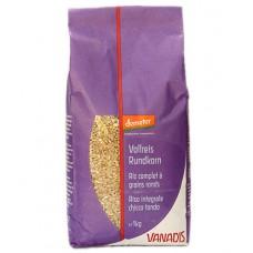 Riz complet à grains ronds demeter, Vanadis, 1kg