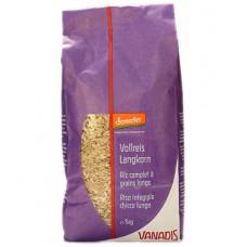 Riz complet à grains longs demeter, Vanadis, 1kg