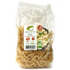 Fusilli au riz et maïs, sans gluten, Nature & Cie, 500g