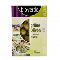 Olives vertes sans noyaux / Grüne Oliven, Bio-Verde, 150g