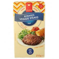 Steak haché Bonanza vegan / Bonanza Veggie Steaks, Viana, 210g