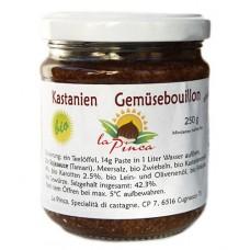 Extrait de légumes aux châtaignes / Kastanien Gemüsebouillon, La Pinca, 250g