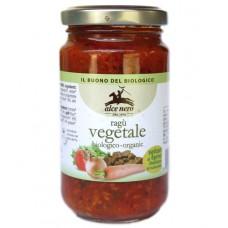 Sauce ragout végétal avec seitan d'épeautre / Ragù vegetale, Alce nero, 200g