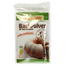 Levure chimique / Backpulver mit reinweinstein, Biovegan, 4 sachets de 17g