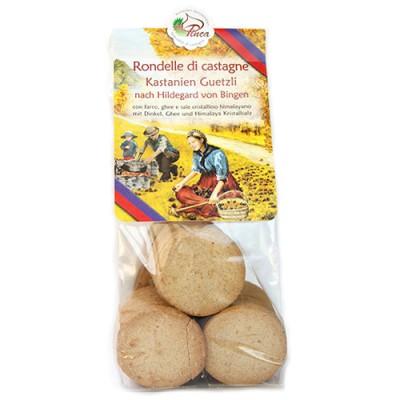 Biscuits aux châtaignes / Rondelle di castagne, La Pinca, 150g