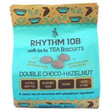 Biscuits chocolat-noisette / Tea biscuits double choco-hazelnut, Rhythm 108, 160g