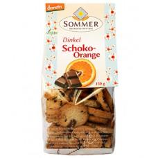 Cookies épeautre chocolat-orange / Dinkel Schoko-Orange, Sommer, 150g