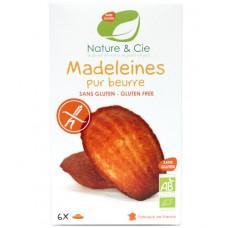 Madeleines pur beurre, sans gluten, Nature & Cie, 150g