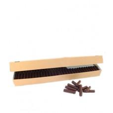 Branches de chocolat noir, carton de  2,16kg