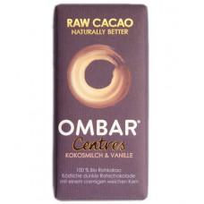 Chocolat cru au lait de coco et vanille, Ombar, 35g