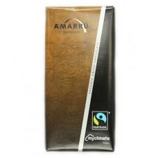 """Chocolat espresso """"Amarrú"""" Fairtrade, 100g"""